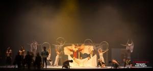 Ljusdesign för Eurogym 2014 Galashow