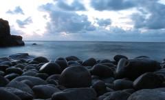 Kullaberg, solnedgång